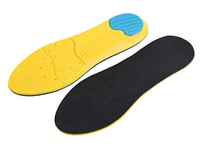 Memory Foam Sport Shoe Insoles (Sizes 8 to 12)