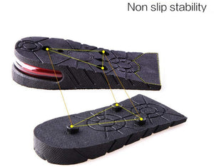 Heightening 2 Layer Half Pad Insoles