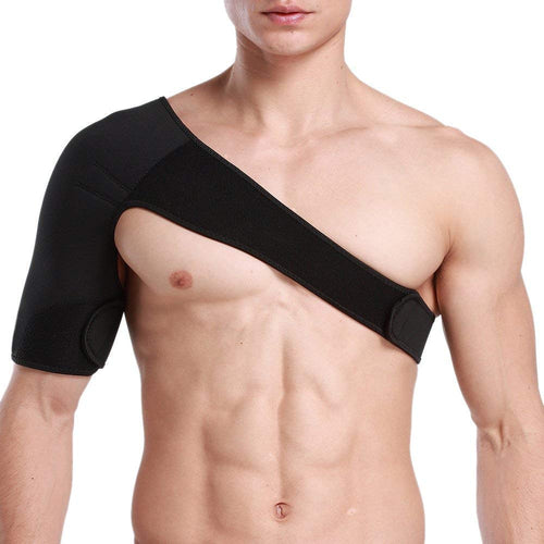 Breathable Neoprene Shoulder Support for Rotetor Cuff Compression Sleeve-Right 1 Piece