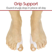 Load image into Gallery viewer, 2 Piece Gel Toe Separators, Straighteners And Spreader For Perfect Toe Alignment