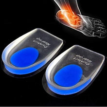 Load image into Gallery viewer, Silicone Gel Heel Pads (1 Pair) (Standard Free Size) - Blue