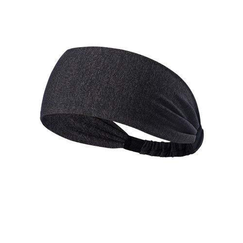 Yoga Sport Athletic Fitness Headband ( Black Dotted)