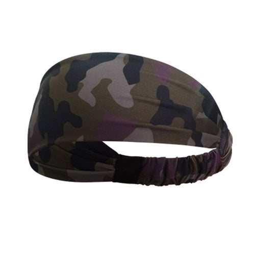 Yoga Sport Athletic Fitness Headband (Camouflage)