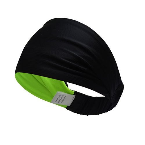 Multifunctional Double Sided Headbands (Green Black)