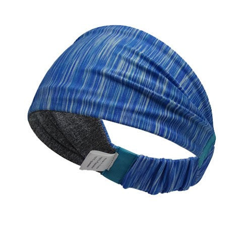 Multifunctional Double Sided Headbands(Premium Grade) - Blue Stripes