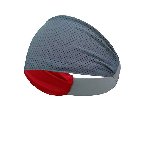 Multipurpose Double Sided Vented Headband  (Grey)