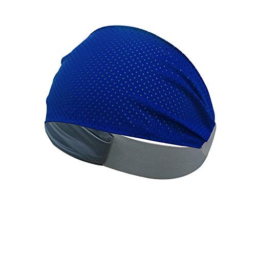 Multipurpose Double Sided Vented Headband (Blue)
