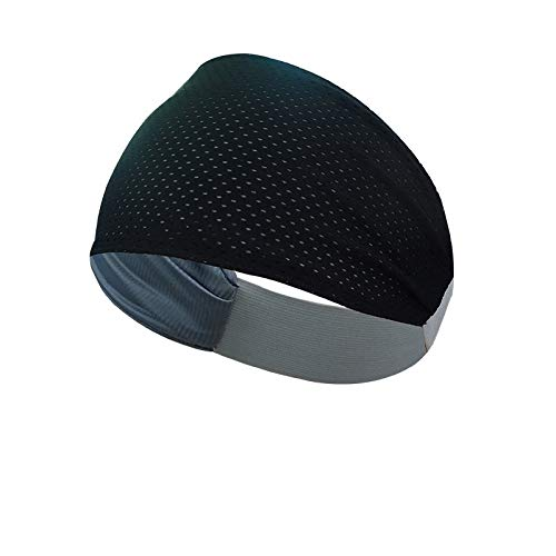 Multipurpose Double Sided Vented Headband (Black)