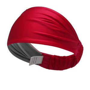 Multifunctional Double Sided Headbands (Red Grey)