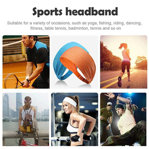 Yoga Sport Athletic Fitness Travel  Headband (Pink Dotted)