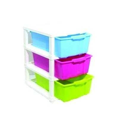 0767 Multipurpose Modular Drawer Organizer Storage Box - 3 Layers