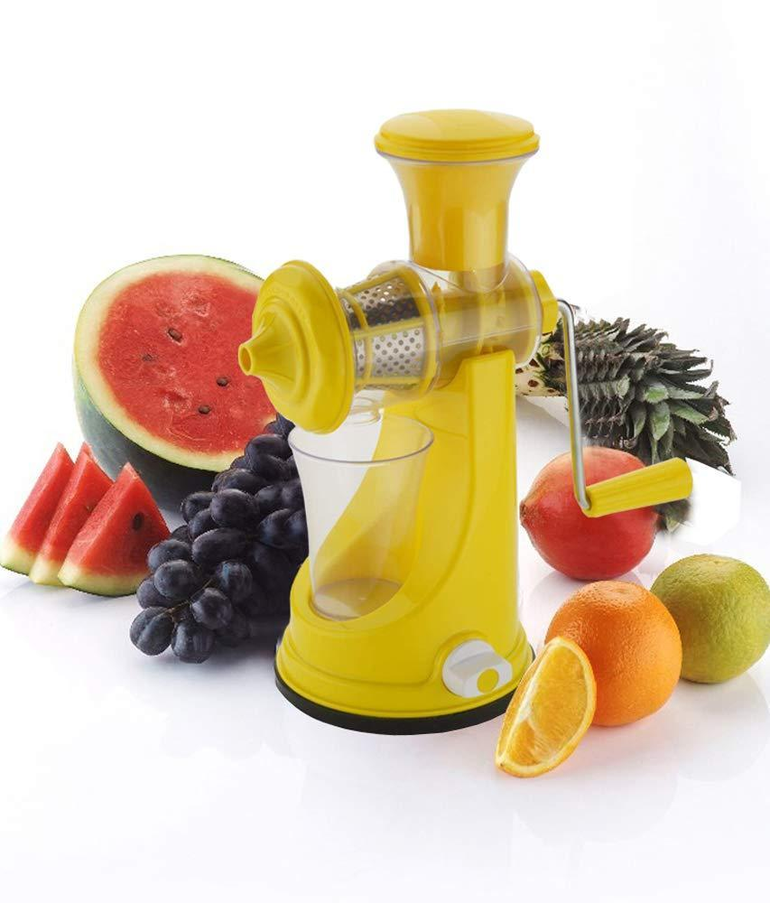 Your Brand Kitchen combo -Manual Fruit Juicer with Plastic Big Tea Strainer Sieve