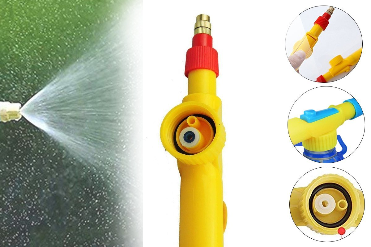468 Bottle Sprayer for Plants Garden Pesticide Car Wash with Adjustable Brass Nozzle Sprayer (Handheld Pump)