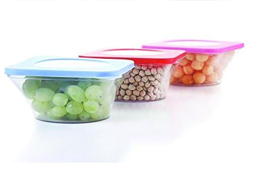 0734 Airtight Kitchen Food Storage Multi Use Containers 4pc (700 ml)