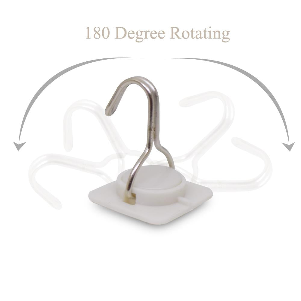 0499 Multipurpose Strong Small Stainless Steel Adhesive Wall Hooks