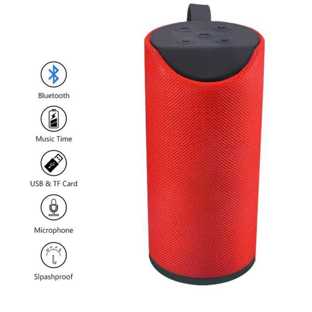 304 Wireless/Bluetooth Portable Mobile Speaker (Multicolour)