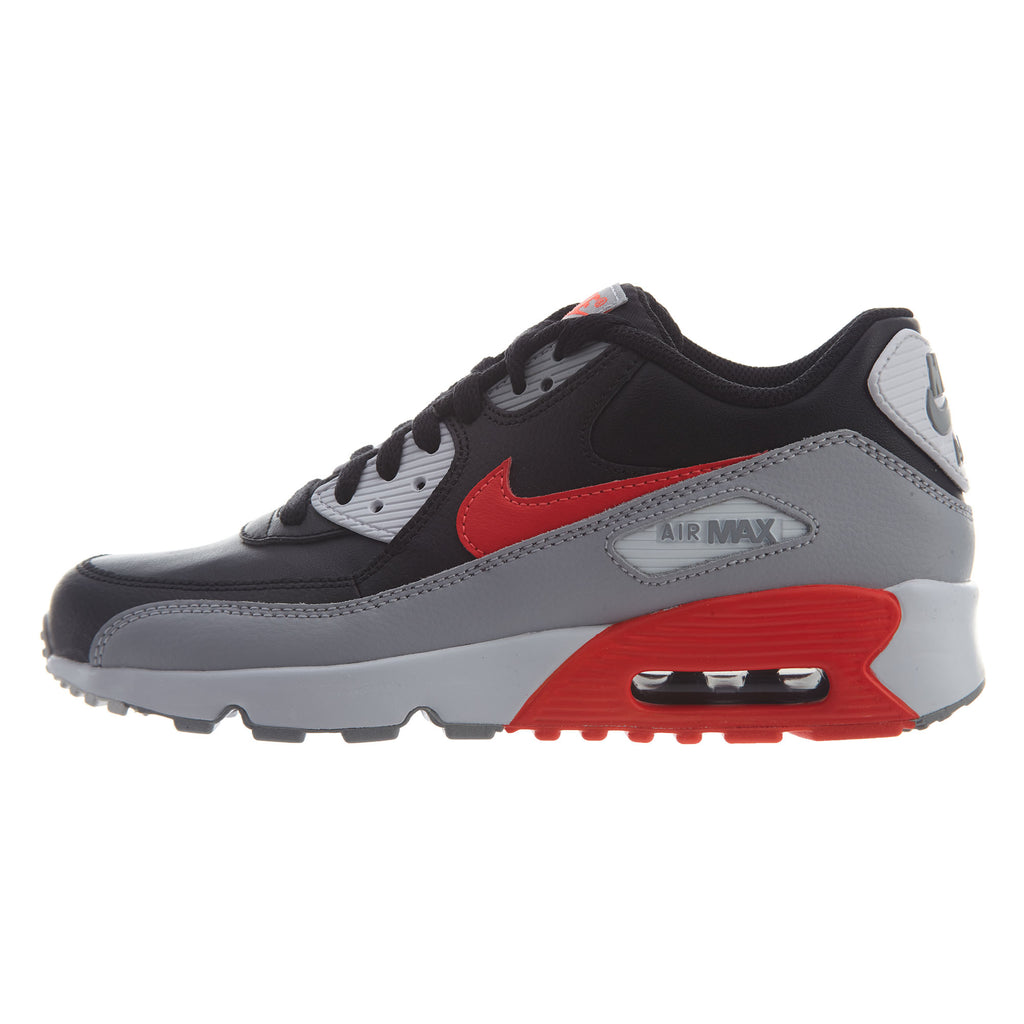 Details about Nike Air Max 90 LTR (GS) BlackBlack Big Kid's Running Shoes 833412 001