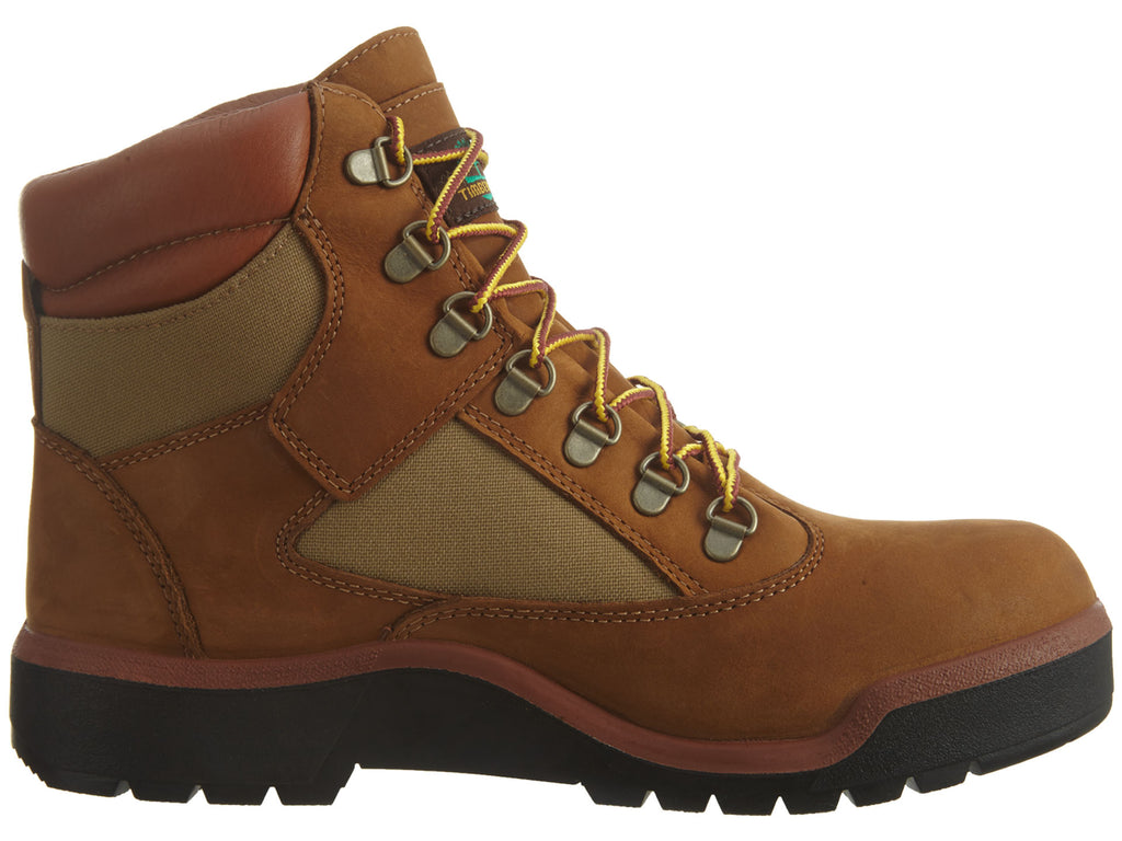 SALE Timberland Waterproof Field Boots Dark Brown//Green TB0A18A6 Size 9.5 /& 12