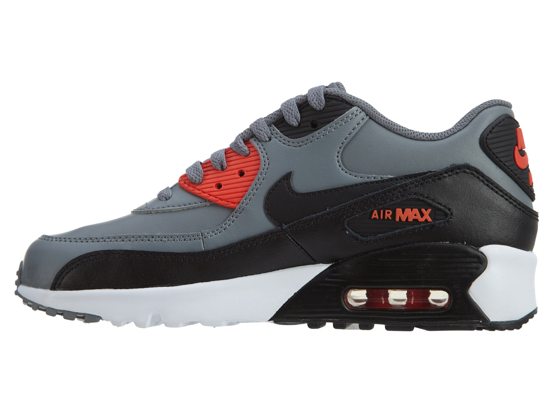 brand new 756cd 3ddf3 Nike Air Max 90 Ltr (Gs) Big Kids Style   833412 – TheEagleShoes