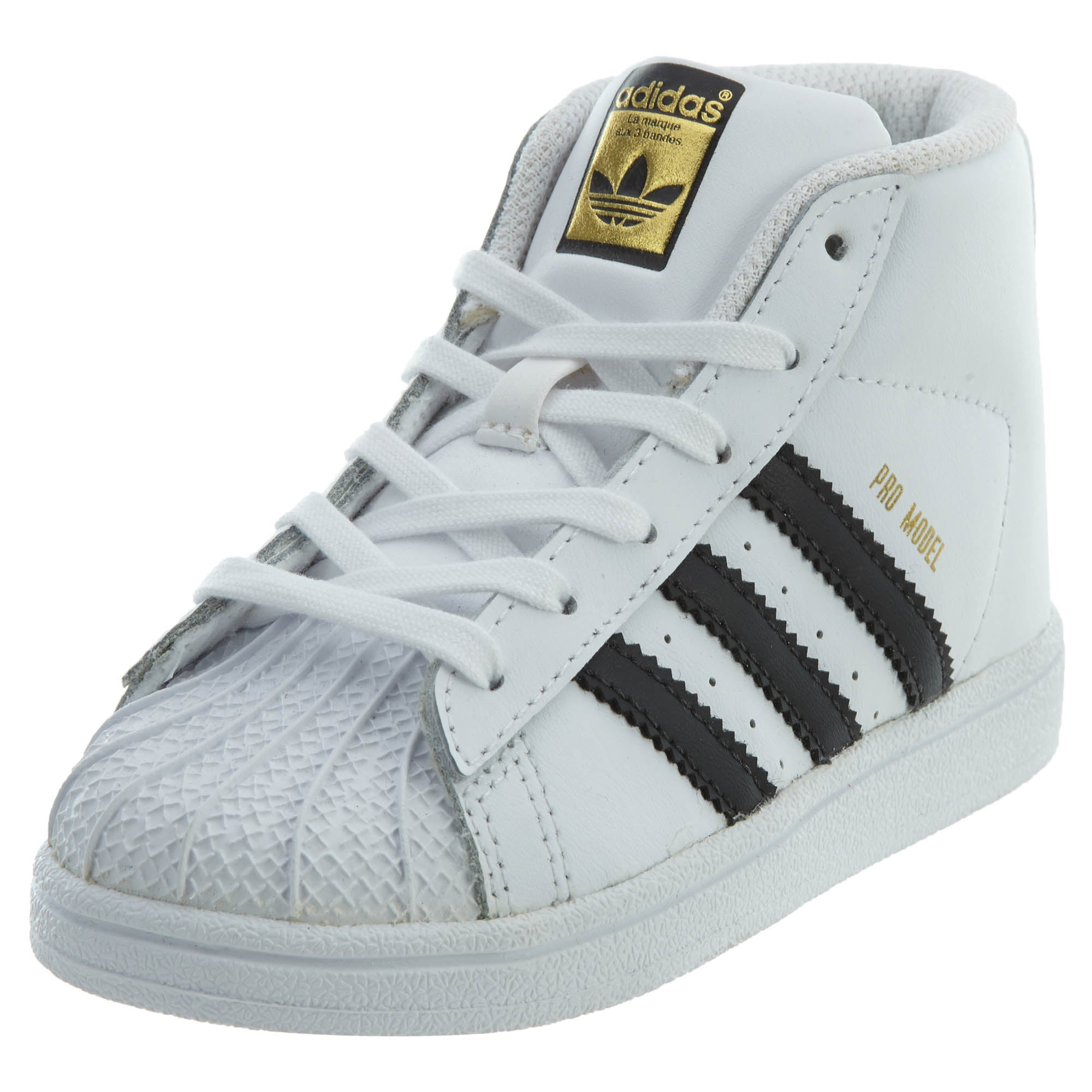 Adidas Toddler Pro Model Shoes White//Black BY4400