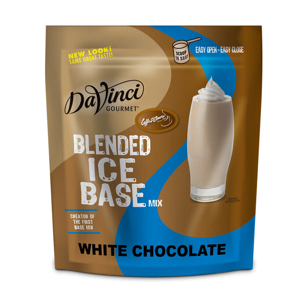 2797519f61 DaVinci Gourmet White Chocolate Ice Blended Base Mix - 5 x 3 lb Bag – Kerry  Food Services