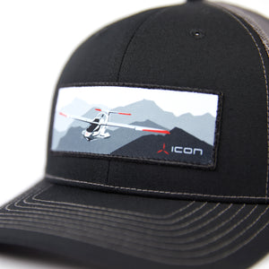 Load image into Gallery viewer, ICON Mountain Trucker Hat