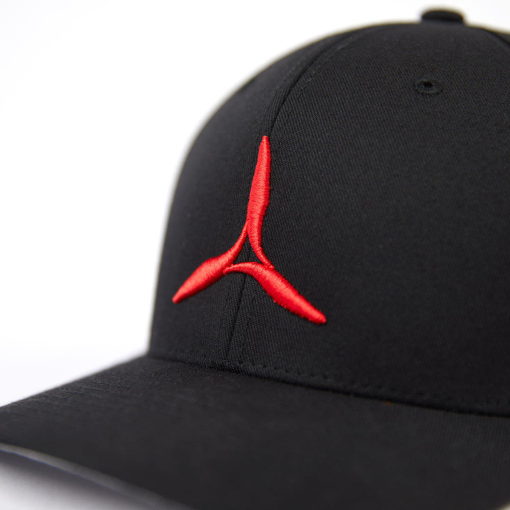 Prop Hat (Black/Red)