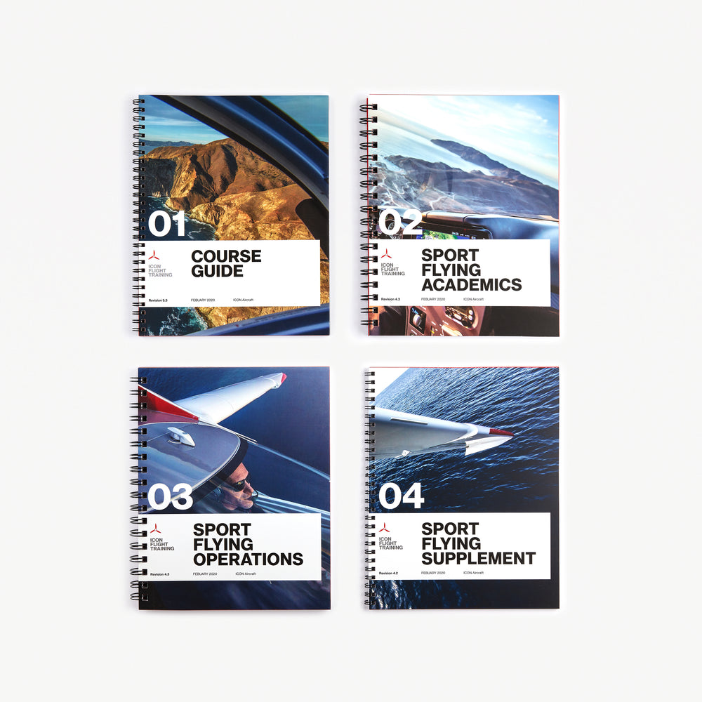 Load image into Gallery viewer, ICON Flight Training Sport Flying Manuals