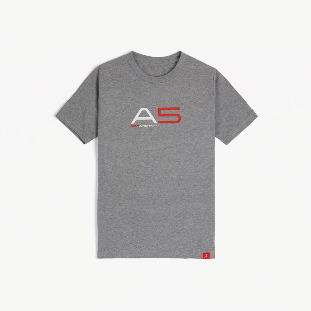 Youth A5 Tee (Gray)