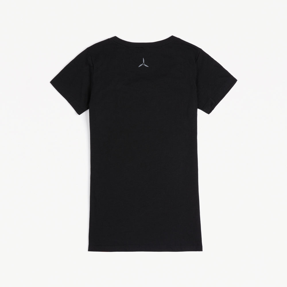 Women's A5 Tee (Carbon Black)