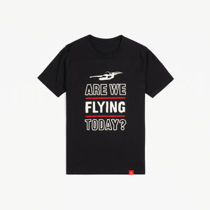 "Youth ""Are We Flying Today?"" Tee (Black)"