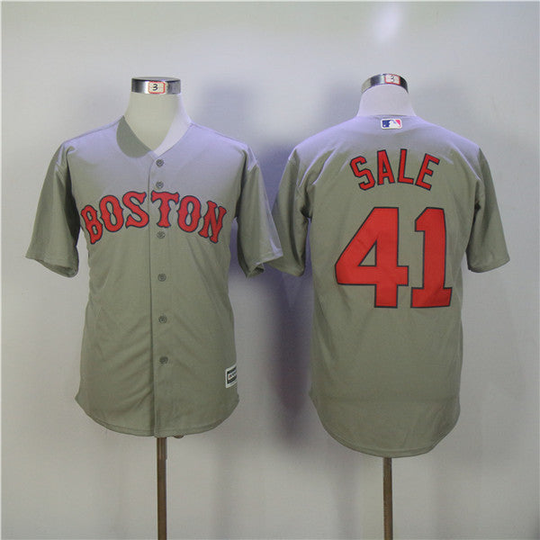 MLB Boston Red Sox Andrew Benintendi Chris Sale  Baseball  jerseys for men