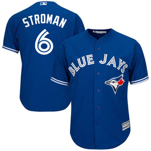 MLB Men's Toronto Blue Jays Marcus Stroman Majestic Cool Base Jersey