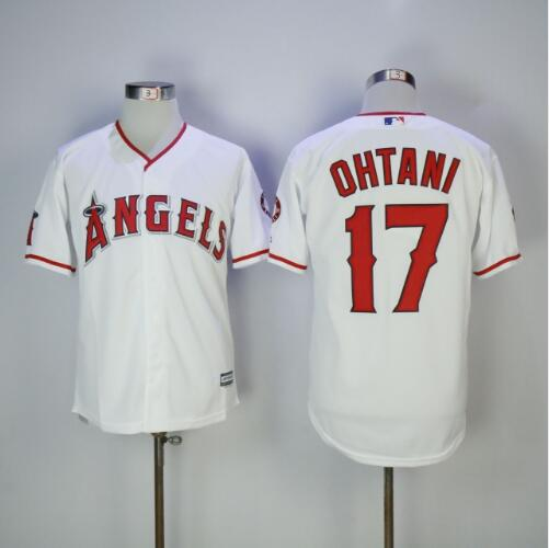 MLB Men's Los Angeles Angels Shohei Ohtani Majestic Cool Base or Flex Base Jersey