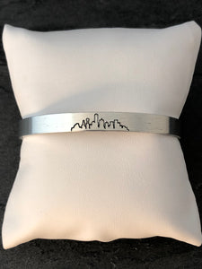 Dallas Skyline Cuff Bracelet
