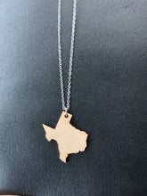 Wooden Texas Necklace