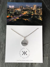 Mini Fort Worth Texas Necklace
