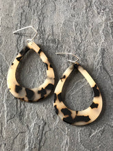 Acrylic Tear Drop Earrings