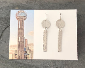 Reunion Tower Earring
