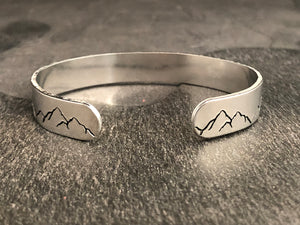 Mountains Cuff Bracelet