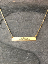 Dallas Skyline Necklace