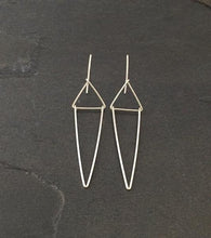 Triangle Art Deco Earrings