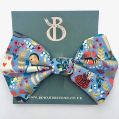 Alice in Wonderland Liberty Print Big Bow