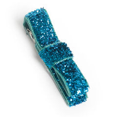 Blue Society Sparkle Hair Clip