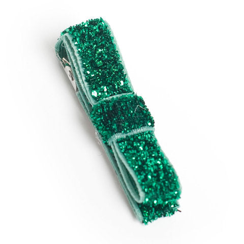Green Society Sparkle Hair Clip