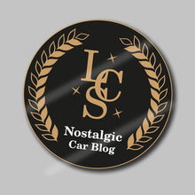 Load image into Gallery viewer, LCS - Nostalgic Car Blog Roundel Sticker