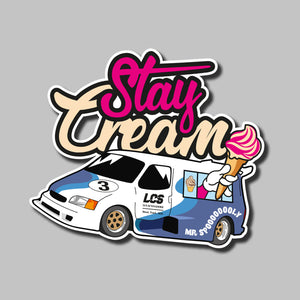 Ice Cream Supervan Sticker