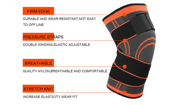 knee brace feature