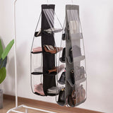 Purse, Handbag Organizer for Closet and Wardrobe with 6/8 Storage Pockets