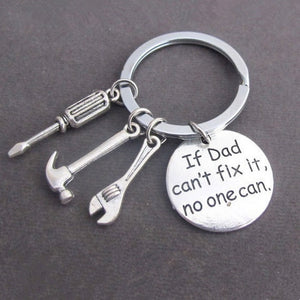 Key Ring with Hand Tools  - Gift for Dad
